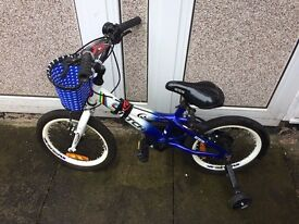 Boys Kids Bike Bicycle Stabilisers children from 6 years onward