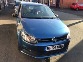 Polo blue gt low miles quick sale xenon lights 4xscuffed alloys body work in great condition £20tax