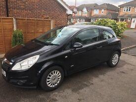 Vauxhall Corsa Life Cdti 1,3 Diesel black fuel efficient