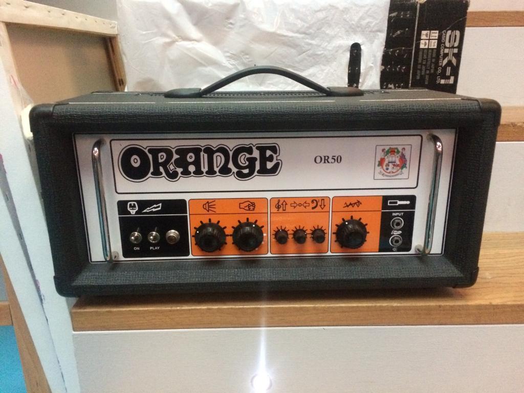 Orange OR50 guitar amp