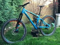 2016 cube stereo 160 enduro mountain bike