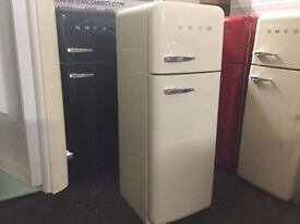 CREAM SMEG FAB30. full warranty. Can deliver/ view.