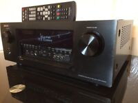 DENON AVR-X4000 NETWORK HDMI, USB, 9.2 Channel HOME CINEMA RECEIVER, HARDLY BEEN USED SCRATCH LESS.
