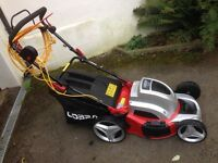 Cobra Self Propelled Electric Lawn Mower MX46SPE used once , as new