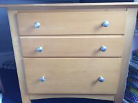 Small 2 drawer chest of drawers (Marks & Spencer)