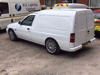 Modified Escort Van Future Classic