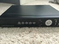 4 channel DVR and hardrive included
