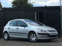 ★ PEUGEOT 307 1.4 HDi STYLE + 5 DOOR + ONLY 98K MILES ★£30 A YEAR TAX