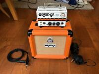 "Orange Micro Terror 20w guitar amp head and 1x8"" cabinet"
