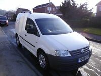 2009/09 Volkswagen Caddy SDI 69PS WHITE