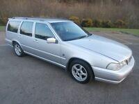 1999 Volvo V70 XT Auto 2.4 litre Petrol Estate (with new MOT )