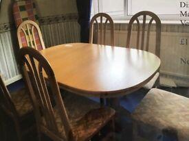 Dining Table Light Oak