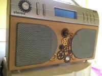 Steampunk Digital Radio