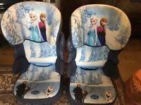 Frozen car seats