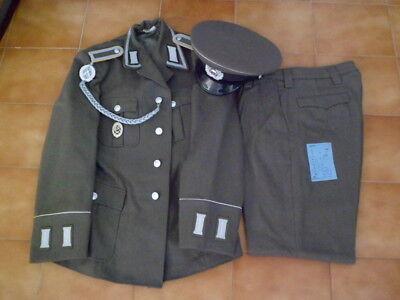 Uniforme de la Inteligencia Militar del Ejército alemán DDR Alemania Comunista