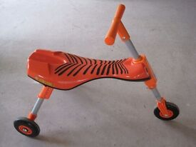 Orange Scuttlebug Trike