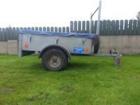 Broniss 5ftx3ft galvanised trailer (Boat/quad/jetski/dinghy/tools)