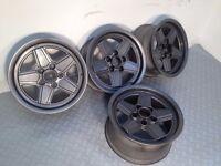 "Original MELBER PENTA 15"" 5x112, 7J deep dish alloy wheels, amg not borbet, at, zenter bbs hartge tm"