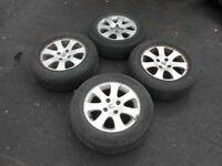 alloy wheels 185/65/15