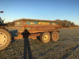 Nc Tractor dump Trailer tipper Trailer