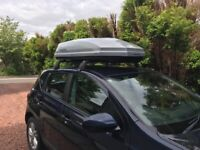 Halfords Exodus Roofbox Silver 470L