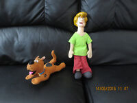 Very rare Talking SHAGGY DOLL approx 14 inch and Scooby Doo