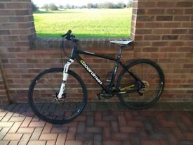 Hybrid bike Boardman MX Race. Stand bike with triple butted alloy frame. Very good condition £260.00