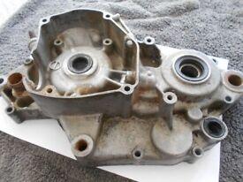 RM 125 Engine l/h side casing