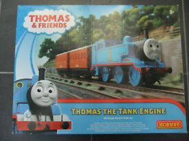oo gauge Hornby Thomas train set for model railway boxed