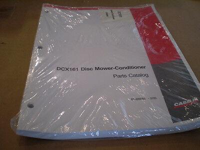 Case Ih New Dcx161 Disc Mower Parts Catalog