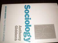 SOCIOLOGY BOOK.