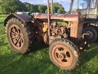 Fordson N vintage tractor & Waterwasher