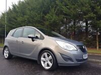 JULY 2011 VAUXHALL MERIVA EXCLUSIV 1.4 16V EXCELLENT LOW MILEAGE EXAMPLE MOT JULY2017 DRIVES AS NEW