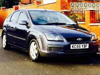 FORD FOCUS 1.6 ZETEC 2006 72k LOW MILEAGE 1YRS MOT PRICED TO SELL CALL NOW