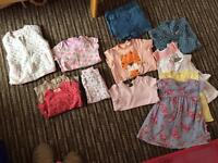 Baby girls clothes 9-12 months
