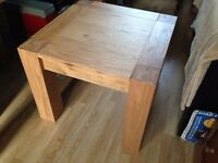 NEW Oak Coffee Table medium size, solid wood by Bentley Designs. low price for quick sale