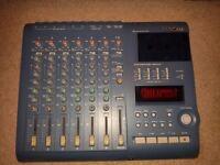 Tascam Portastudio 424 MKIII + Softpad Case + Manual + 3 Cassettes