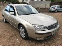 Ford Mondeo Zetec - S TDCI 1998cc Petrol 6 speed manual 53 Plate 25/09/2003 Silver
