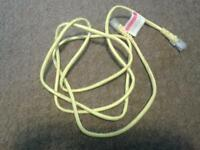 Yellow ethernet lead