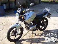 Yamaha YBR 125 - 2012, 12 months Mot, Free delivery, Free warranty, Low miles
