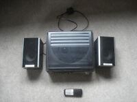 Steepletone Turntable / CD / Radio System