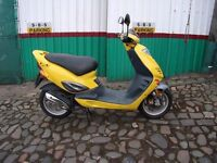 ADLY SUPERSONIC 100cc SCOOTER . only 3050 miles . Cleaned, Serviced, Warranty . at £595 . EDINBURGH
