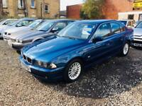 Bmw 530 automatic 3.0 02 reg 1 year mot drives amazing px welcome delivery available excellent car