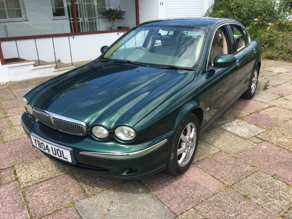 jaguar x type 2 2l diesel british racing green leather. Black Bedroom Furniture Sets. Home Design Ideas