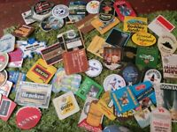 huge load of BEERMATS 100s and 100s here