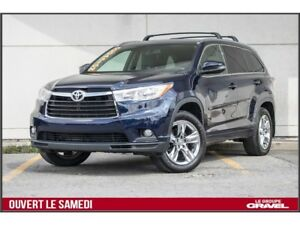 2015 Toyota Highlander LIMITED - GPS - TOIT - BLUETOOTH - CUIR -