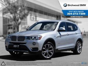 2017 BMW X3 Xdrive28i Premium Package Enhanced! Local Car!