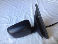 Mk2 VW Golf or Jetta door mirror, Driver's side
