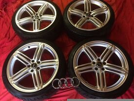 """20"""" ALLOYS AND TYRES TO SUIT A RANGE OF AUDI/VW VEHICLES"""