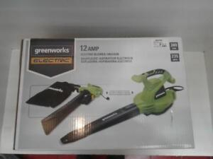 Greenworks 24072 Electric Blower/Vacuum (1) (Fv25481) We Sell Tools!